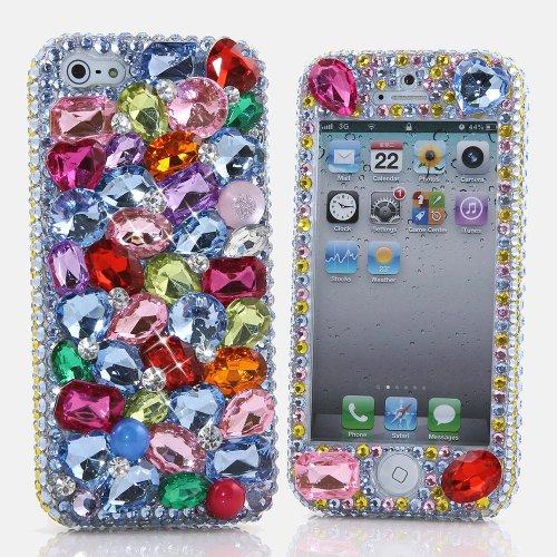 Faceplate Rainbow Glitter - 5