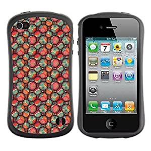 Andre-case FlareStar Colorful Printing cute flower Slim Fit Dual Layer protective NDO0XYjJdSz case cover for Apple iPhone 5c / iPhone 5c