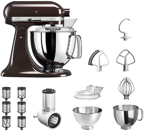 KitchenAid Robot de cocina | fop Juego | Artisan 5 ksm175ps Veggie S del paquete |
