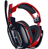ASTRO Gaming A40 TR-X Edition Wired PC Headset Also Compatible With Mac, PlayStation 4, Xbox One - Red/Blue