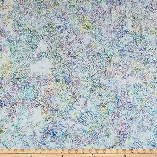 Hoffman Fabrics Hoffman Bali Batik Bark Texture Fabric, 1, Prism, Fabric by the Yard