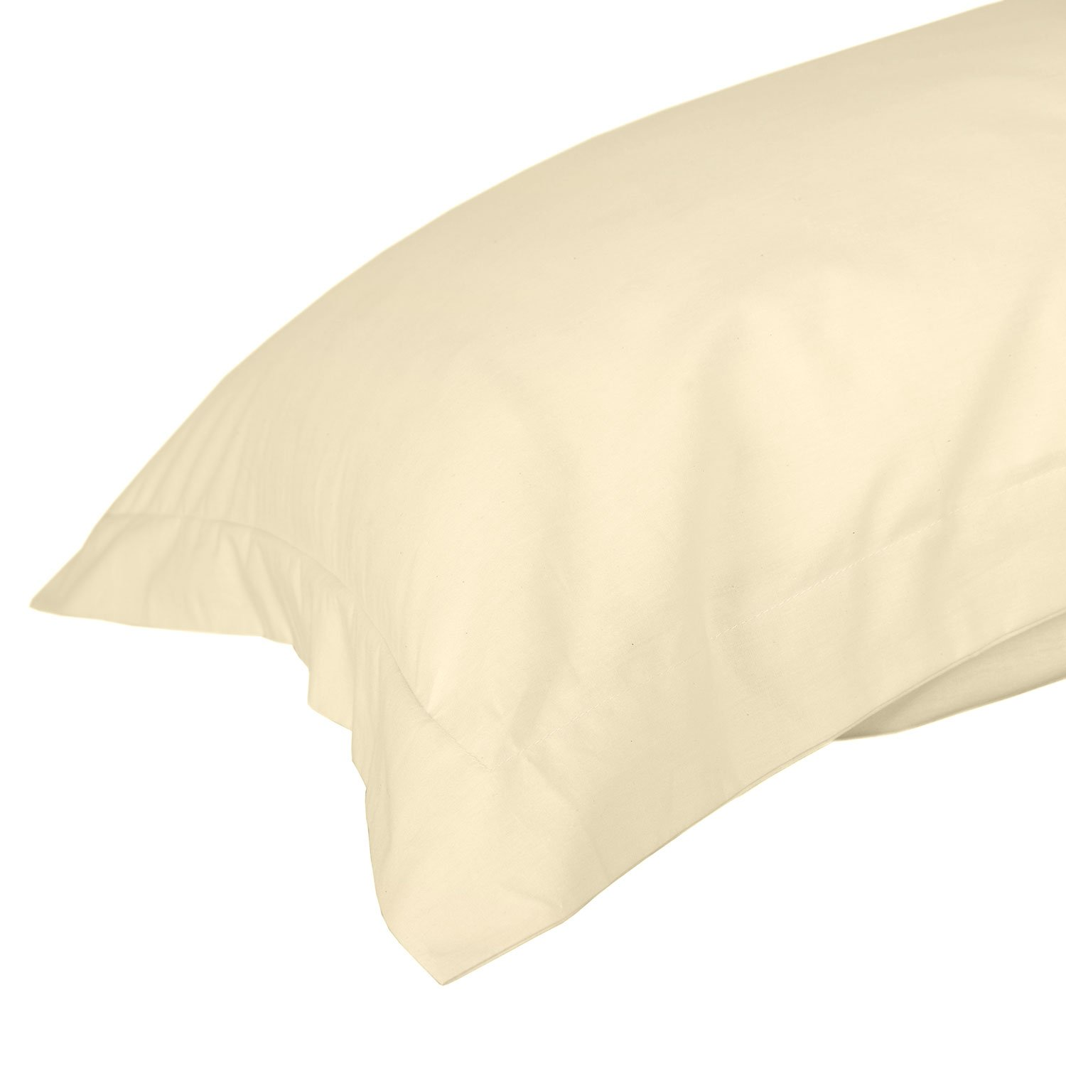 Homescapes Black Oxford Pillowcase 100% Egyptian Cotton 200 Thread Count Percale Anti Allergic Others