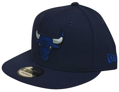 7034fa99325 New Era Chicago Bulls League Pop Adjustable Snapback Hat (Multiple Colors)  (Light Navy