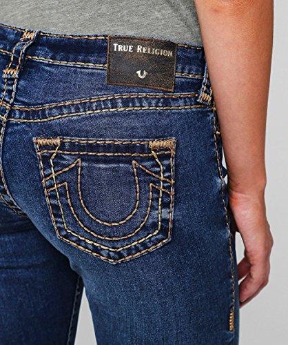 Blu Halle True Donna Religion Skinny Rise Mid Super Jeans 4p6w84q