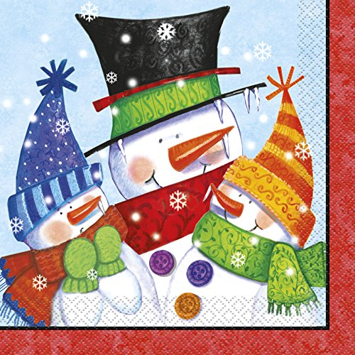 Servilletas-de-papel-de-Navidad-Buddies-mueco-pack-de-16