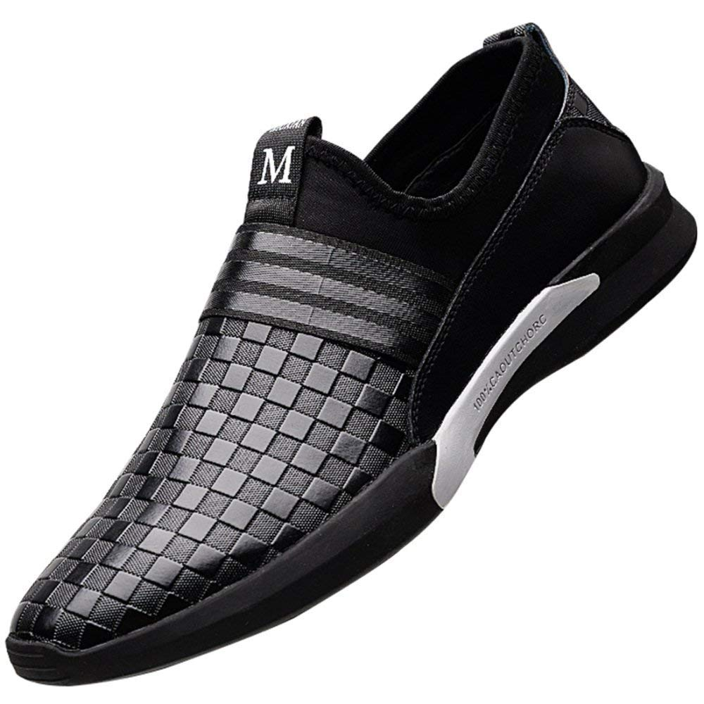 Herrenmode Sport Freizeitschuhe Board Schuhe Derby Schuhe (Farbe   Schwarz, Größe   41EU)
