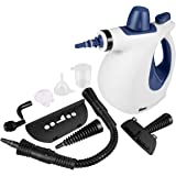 Multi-Purpose Handheld Pressurized Steam Cleaner, Chemical-Free Steam Cleaning with 9-Piece Accessories, Steam Cleaner for Stain Removal, Carpets, Curtains, Car Seats, Kitchen Surface & Much More