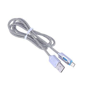 Baluue Cable de Cargador de iluminación 2pcs 1 Metro ...