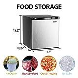 Euhomy Mini Freezer Countertop, Energy Star 1.1
