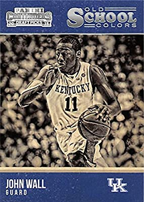 John Wall Basketball Card (Kentucky, College Legend) 2015 Panini Contenders Draft Picks Old School #15