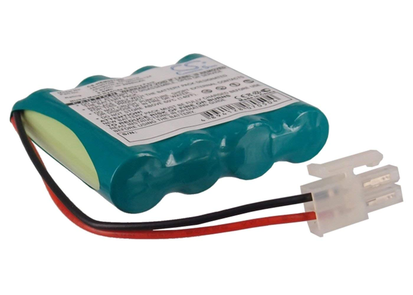 VINTRONS 4.8V Battery For OMRON HEM-907XL, HEM-907, MGH00124, 48H907N, 48H907N-AU, 48H907NE