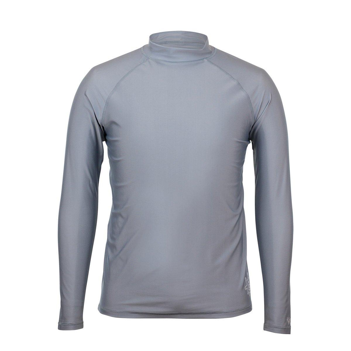 Salt Water Resistant UV Skinz Men/'s Long Sleeve Sun /& Swim Shirt with UPF 50
