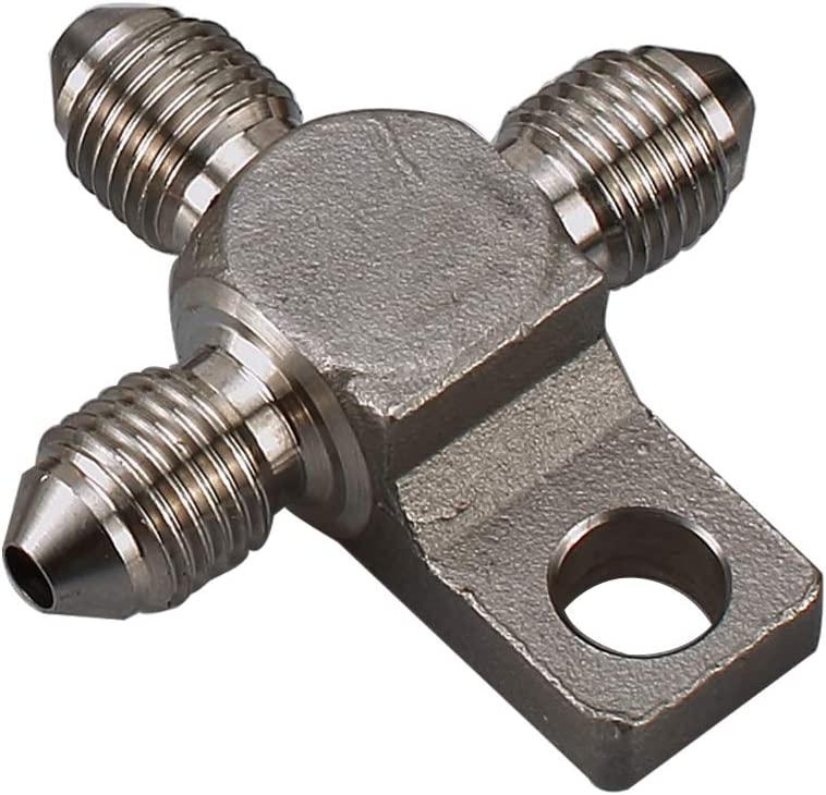 AN-3 Male Y Block Stainless Brake Distributor Fittings 3//8x24 UNF AN3