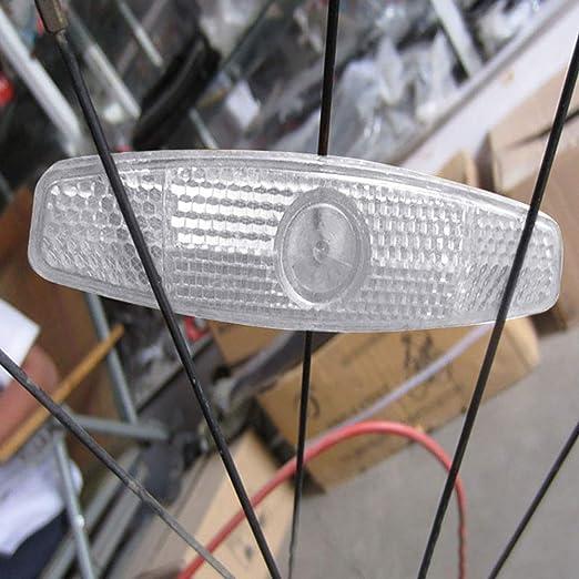 PokYr25eb Tira Reflectante para radios de Bicicleta, Reflectante ...