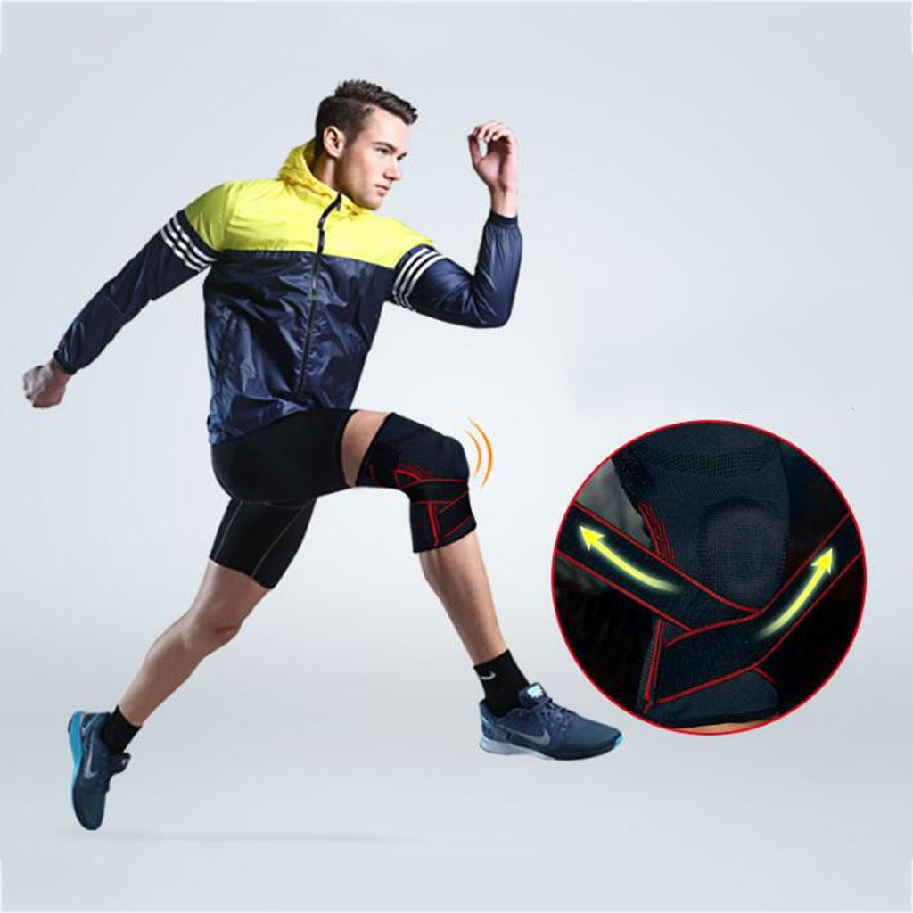 hiking exercise XY/&CF Knee protectors running meniscus injury knee protection and support running jogging cycling