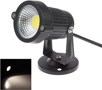 Focos Proyector LED Exterior Jardín IP65 COB 3W 220V Blanco frío: Amazon.es: Iluminación