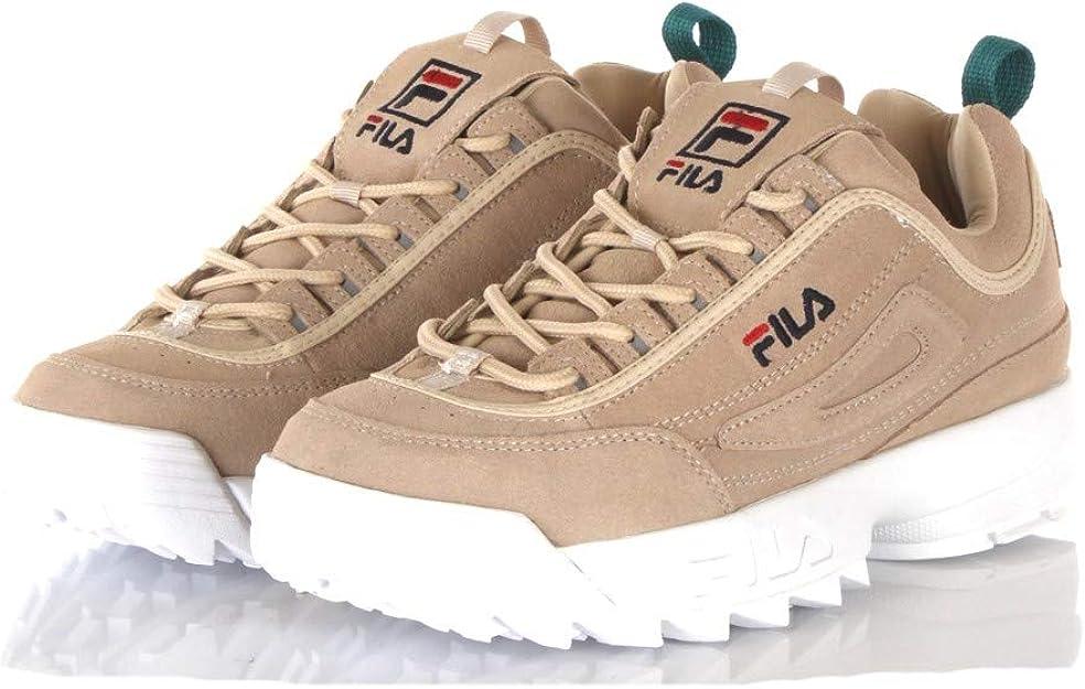 Fila Disruptor S Low Shoes Men Beige 43
