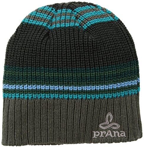 (prAna Gonzalez Beanie Hat, Gravel, One Size)