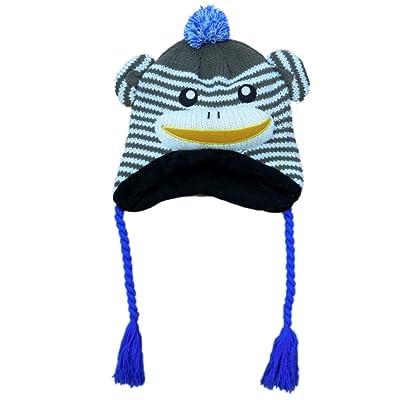 6194d9d651d08 Aquarius Boys Brown Monkey Critter Style Peruvian Hat