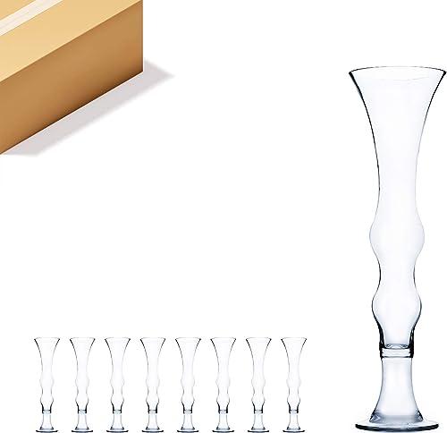 WGV Tall Glass Vase Bulk