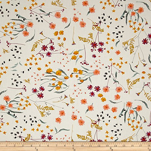 Art Gallery Spices Fusion Blossom Swale Spices Fabric By The Yard (Blossom Spice)