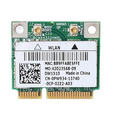 Yintiod BCM94322HM8L BCM94322 - Adaptador de Tarjeta Wi-Fi ...
