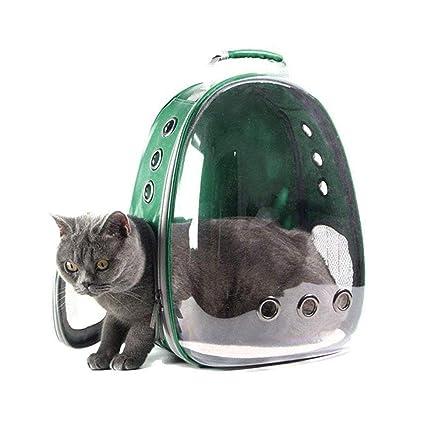 5d63ecbf09c5 MOGOI Portable Pet/Cat/Dog Backpack Carrier Bubble, New Space Capsule  Design 360° Sightseeing Safe & Breathable Rucksack Handbag Transparent  Travel ...