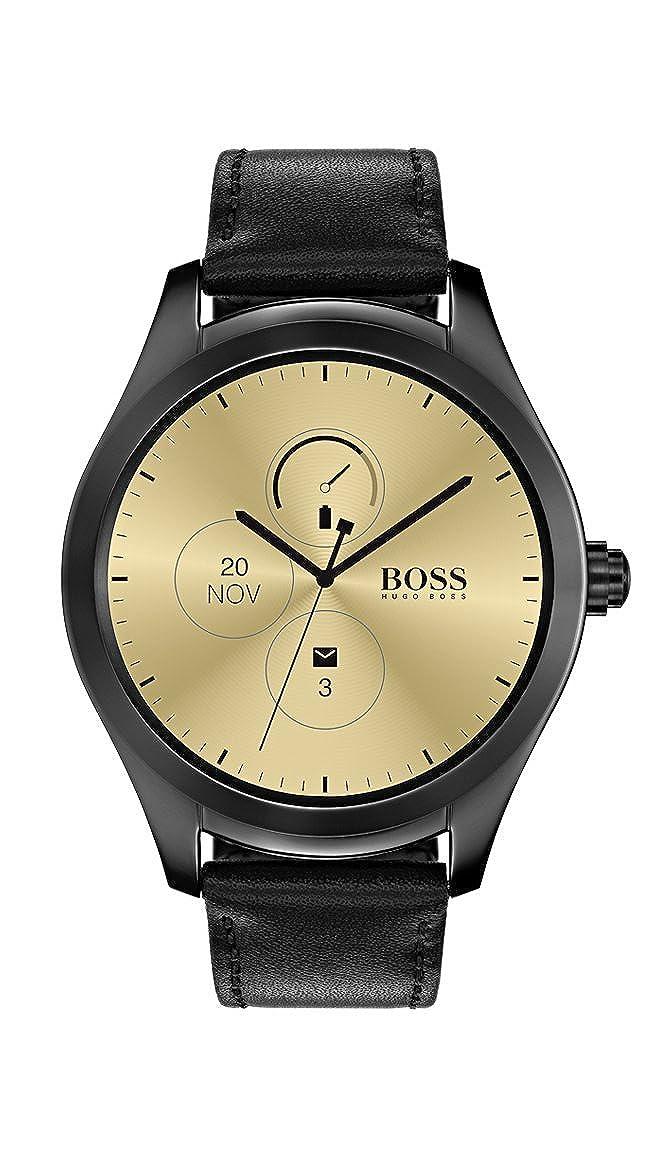 Hugo Boss Reloj Unisex de Digital con Correa en Cuero 1513552 ...