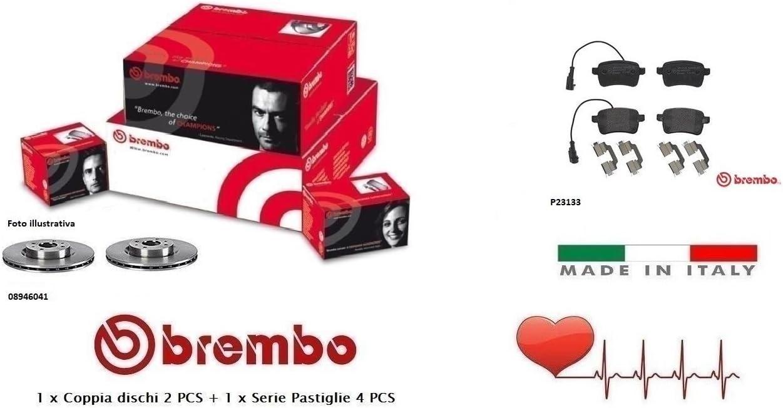 Brembo P23133 Pastiglia Freno Disco Posteriore