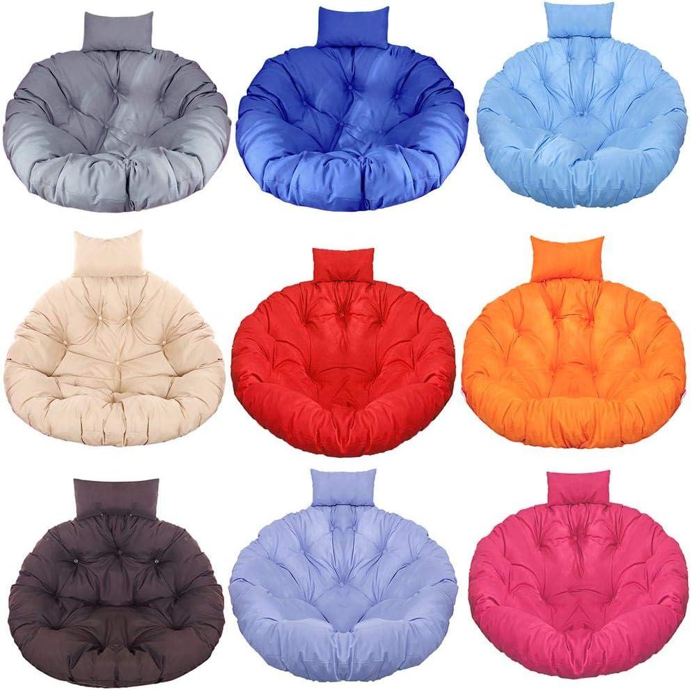 guanguan Papasan Chair Cushion Round Seat Cushion Ultra Soft Chair Mat Home Floor Cushion for Home Patio Decoration Trusted