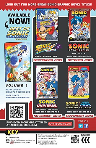 Best of Sonic the Hedgehog 2: Villains (Best of Sonic the Hedgehog Comics)