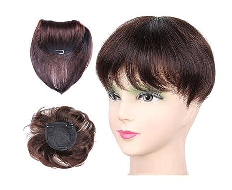 Yair Yangtze - Decoración de pelo humano con brazaletes para mujer, 4,7 x