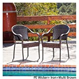 Livingston Patio Furniture ~ Outdoor Wicker Dining Chair