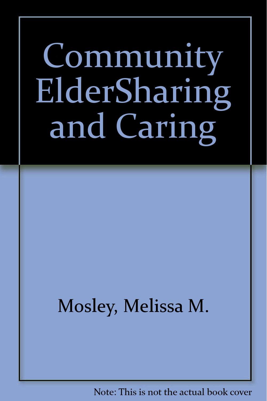 Download Community ElderSharing and Caring pdf epub