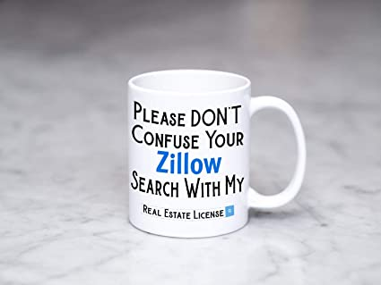 amazon com real estate gift please don t confuse your zillow