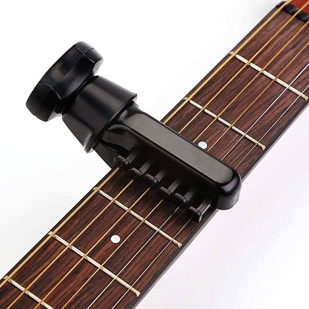 XKSIKjians Guitar Accessorie Black Ukulele Capo Clamp Metal Change Tone Clip Acoustic General Musical Instrument Accessories