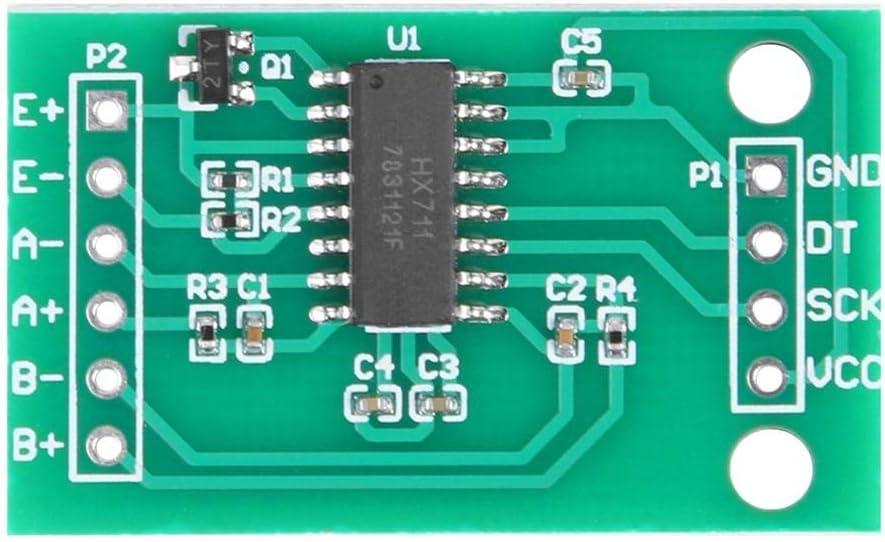 4pcs 50kg Human Load Cells /& HX711 AD Module Resistance Strain Weight Sensor Kit