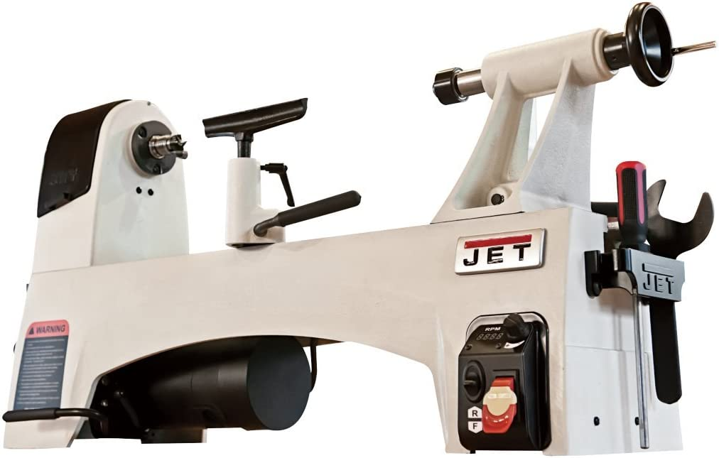 JET JWL-1221VS Variable Speed best Wood Lathe
