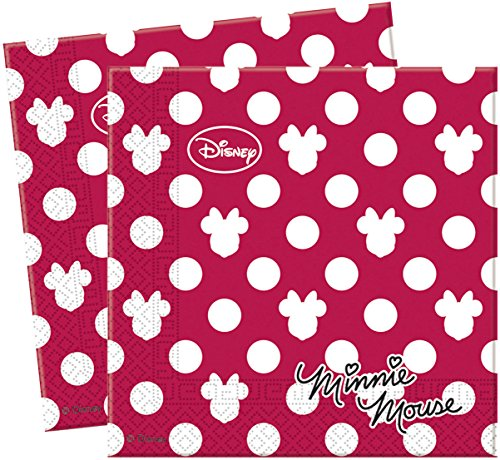 20 Di (Red Minnie Party Supplies)