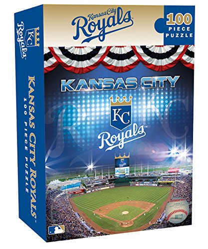 MasterPieces MLB Kansas City Royals Jigsaw Puzzle, -