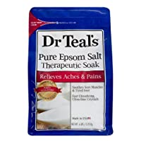 Deals on Dr Teals Pure Epsom Salt Therapeutic Soak 6 lbs.