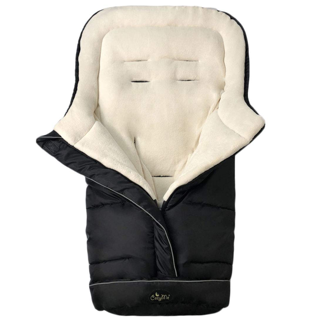 Practical Design Makes Our Toddler Stroller Bunting Bag Outstanding Cozy Baby Sleeping Bag Adaptable for Most Style Strollers,Comfortable Warm Lining