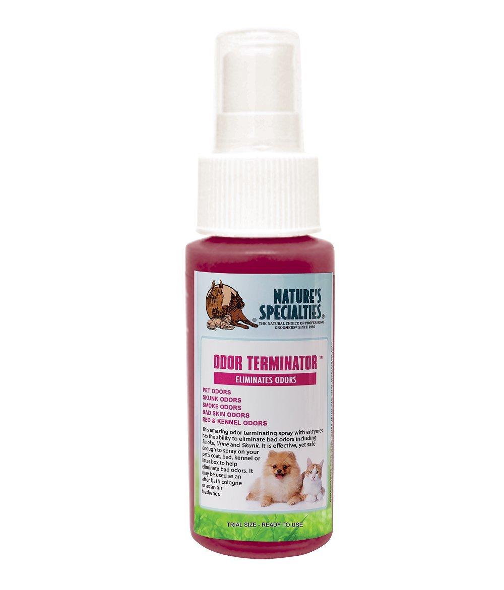 Nature's Specialties Odor Terminator Spray for Pets, Trial Size