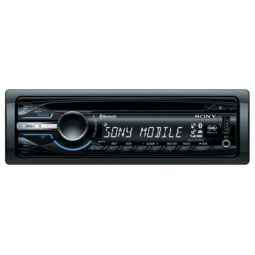 Sony Mex Bt3900u Bluetooth Usb Cd Mp3 Car Stereo Radio Tunerfront Com Fs Xplod Player Head Unit With Mkiv Wiring Harness Aux Input Electronics