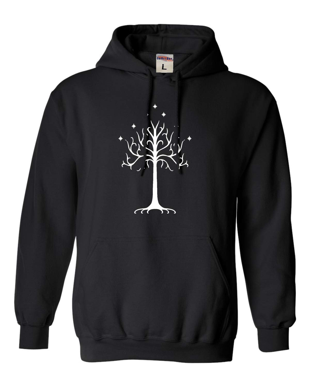 Go All Out Adult and Youth Gondor Tree Sweatshirt Hoodie