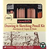 General Pencil Classic Sketching and Drawing Kit