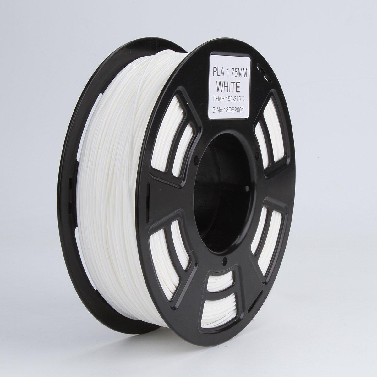 3d Printer PLA Filamento de 1,75 mm filamentos - blanco, de bajo ...