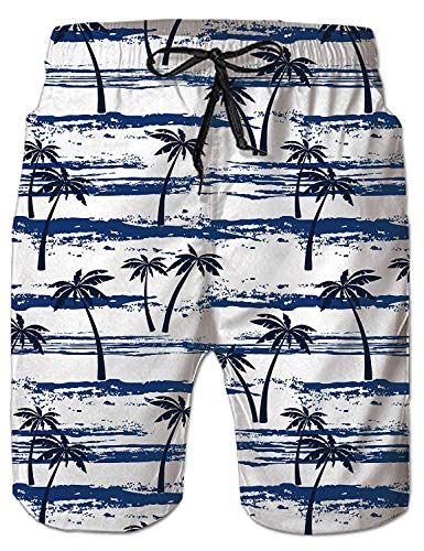 Wexzss Merry Christmas Funny Summer Quick-Drying Swim Trunks Beach Shorts Cargo Shorts
