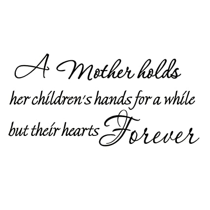 A Mother Holds Her Children\'s Hands For a While But Their ...