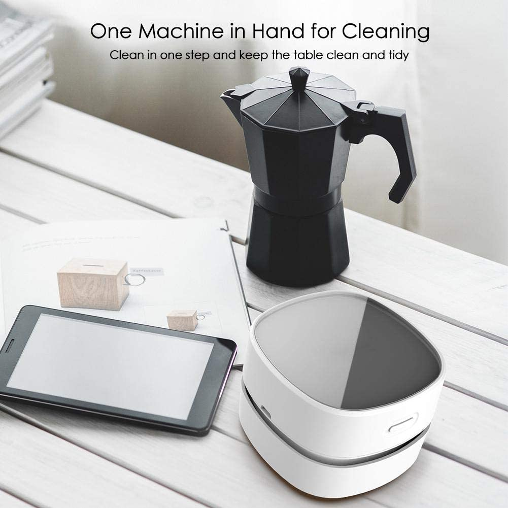 Beesuya - Aspirador de escritorio mini para polvo de mesa, mejor limpiador para polvo de limpieza, pelos, migas, restos para ordenador portátil, ordenador, coche y friendly: Amazon.es: Hogar